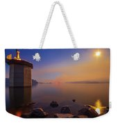 South Holston By Moon And Firelight Weekender Tote Bag