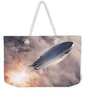 Spacex Bfr Epic Launch Weekender Tote Bag