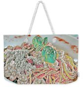 Spaghetti And Shrimp Weekender Tote Bag