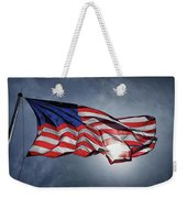 Spanking In The Breeze At Fort Mchenry Weekender Tote Bag by Bill Swartwout Photography