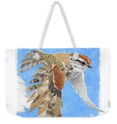 Sparrow Weekender Tote Bag by Clint Hansen