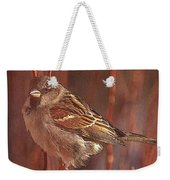 Sparrow In The Sunshine Weekender Tote Bag