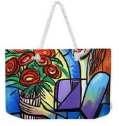 Special Delivery Weekender Tote Bag by Anthony Falbo