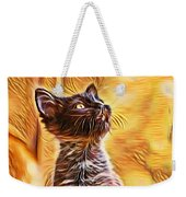 Special Long Neck Kitty Weekender Tote Bag by Don Northup