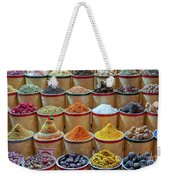 Spices Market In Dubai Weekender Tote Bag