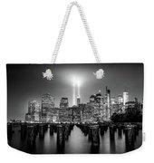 Spirit Of New York Weekender Tote Bag