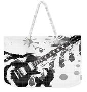 Splatter Guitar Weekender Tote Bag