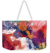Spring Crush 3- Abstract Art By Linda Woods Weekender Tote Bag