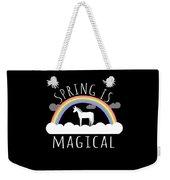 Spring Is Magical Weekender Tote Bag