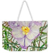 Spring Macro Tangle Weekender Tote Bag