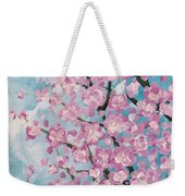 Spring Pink Weekender Tote Bag