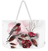 Spring Rests In The Heart Of Winter Weekender Tote Bag