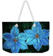 Spring Star Flowers Weekender Tote Bag