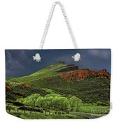 Spring Storm At Milepost 84 Weekender Tote Bag