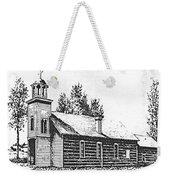 St. Mary's Mission, Stevensville, Montana Weekender Tote Bag