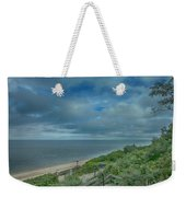 Stairs To The Beach Weekender Tote Bag by Judy Hall-Folde