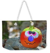 Hello Pumpkin Weekender Tote Bag by Jamart Photography