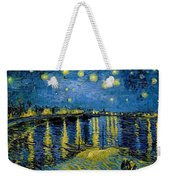 Starry Night - Digital Remastered Edition Weekender Tote Bag