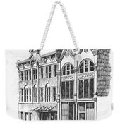 State Publishing And Parchen Building Helena Montana Weekender Tote Bag
