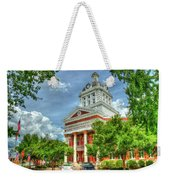 Stately Elegance Morgan County Court House Madison Georgia Art Weekender Tote Bag