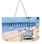 Station 3 Oceanside California Weekender Tote Bag