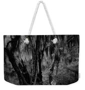Statue In The Grass Weekender Tote Bag