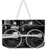 Steam Locomotive Detail Weekender Tote Bag