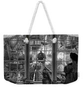 Steampunk Dreams In Black And White Weekender Tote Bag
