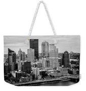 Steel City Skyline Weekender Tote Bag