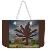 Steel Palm - Peace River Botanical And Sculpture Gardens Weekender Tote Bag