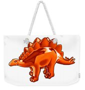 Stegosaurus Cartoon Weekender Tote Bag