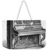 Steinway Piano, 1878 Weekender Tote Bag