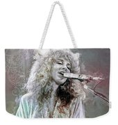 Stevie Nicks Weekender Tote Bag
