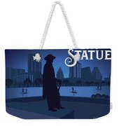 Stevie Ray Vaughan Memorial Statue  Weekender Tote Bag