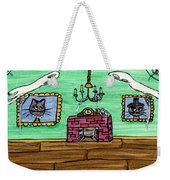 Stick Cats #1 Weekender Tote Bag