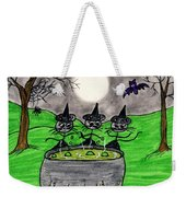 Stick Cats #2 Weekender Tote Bag