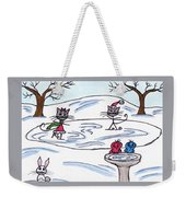 Stick Cats #9 Weekender Tote Bag