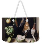 Still Life With Game Fowl Weekender Tote Bag