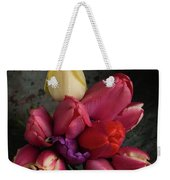 Still Life With Tulips 35 Weekender Tote Bag