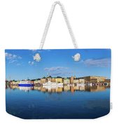 Stockholm Old City Sunrise Reflection In The Baltic Sea Weekender Tote Bag