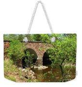 Stone Bridge At The Eastern Entrance Of The Manassas Battlefield  Weekender Tote Bag