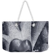 Stone Carving Of An African Woman Weekender Tote Bag