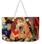 Stones On Stage - The Rolling Stones Weekender Tote Bag