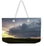 Storm Chasing West South Central Nebraska 050 Weekender Tote Bag