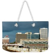 Storm Over Union Station Weekender Tote Bag
