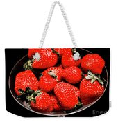 Strawberry Cocktail Weekender Tote Bag