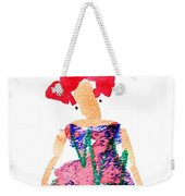 Strawberry Dress Weekender Tote Bag