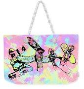 Street Sk8 Pop Art Weekender Tote Bag