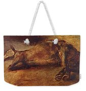 Study For Dead Horse Weekender Tote Bag