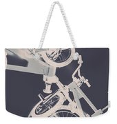 Stunt Bike Trickery Weekender Tote Bag